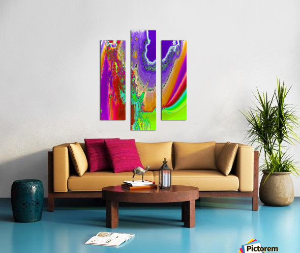 Sacred colors Canvas print
