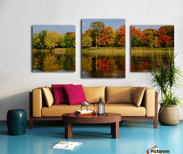 Fall in love with fall Canvas print
