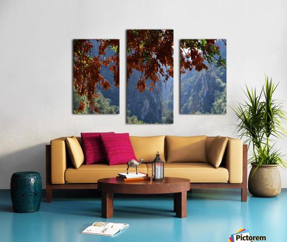 Akchour Canvas print