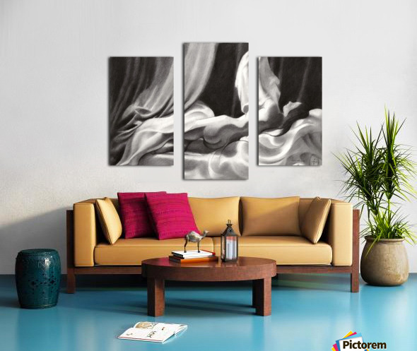 Roundism – 15-11-20 Canvas print