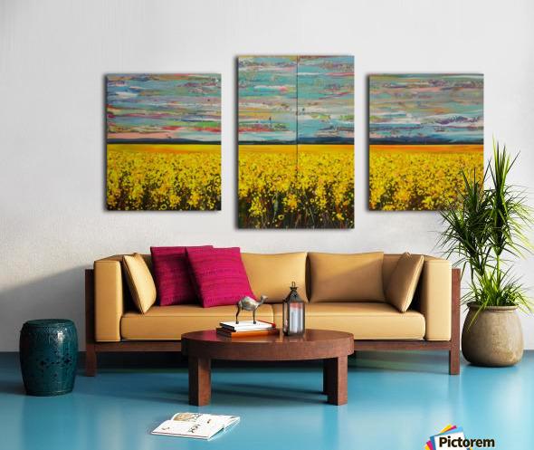 Arcadia Full Painting Canvas print