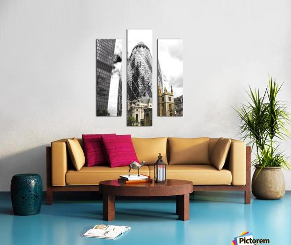 The Skyscraper Impression sur toile