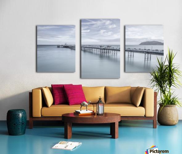 Llandudno Pier, North Wales Canvas print