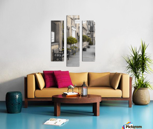 Old buildings in Tetbury town, Cotswolds Canvas print