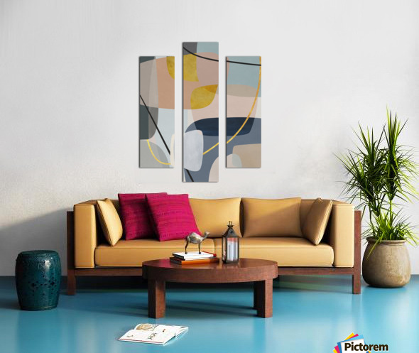 Abstract Composition 1147 Canvas print
