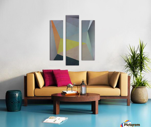 Abstract Composition 1137 Canvas print