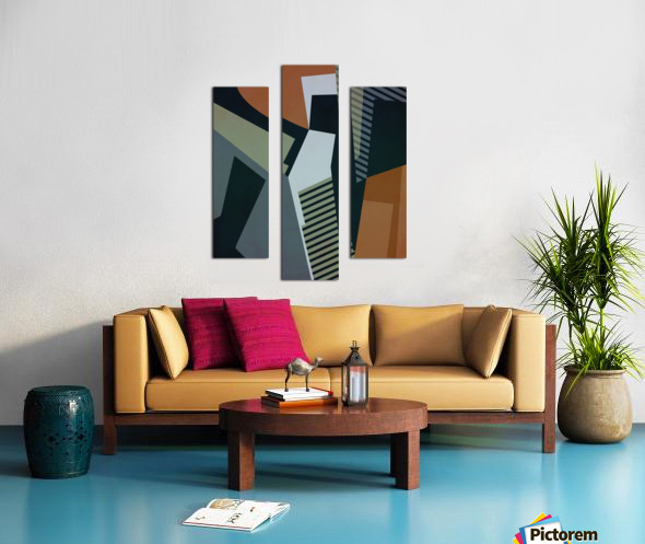 Abstract Composition 1132 Canvas print