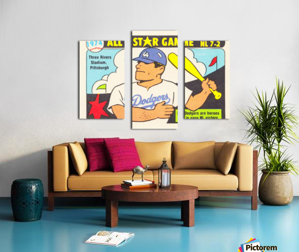 1974 Baseball All-Star Game Canvas print