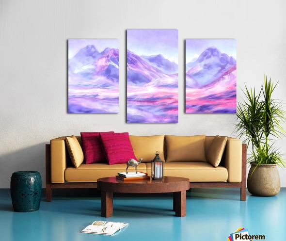 Mount Fairweather Canada Canvas print