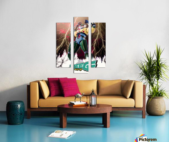 Kotetsu Jeeg - Steel Jeeg Canvas print
