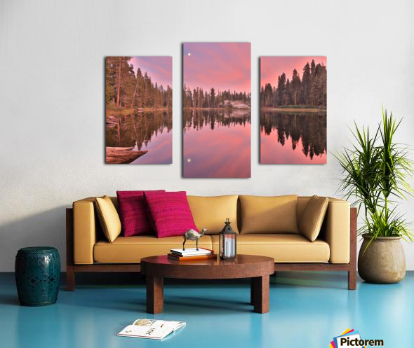 Azalea Sunset Canvas print