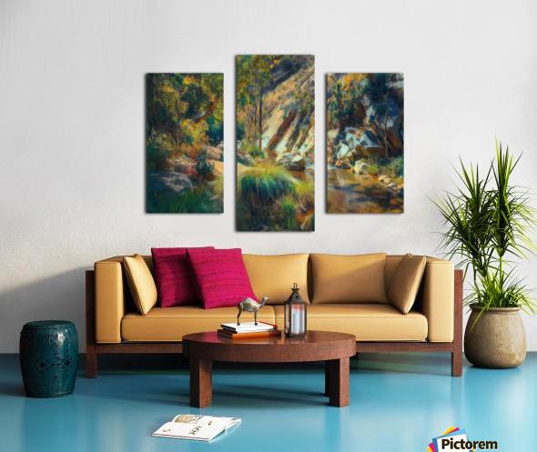 Ojai canyons Canvas print