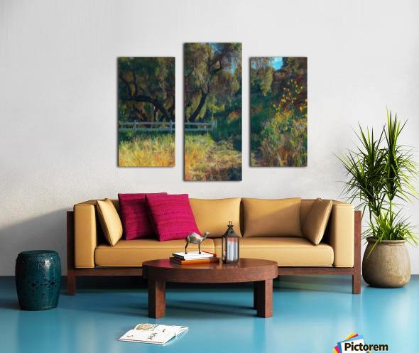 Rolling hills 2 Canvas print