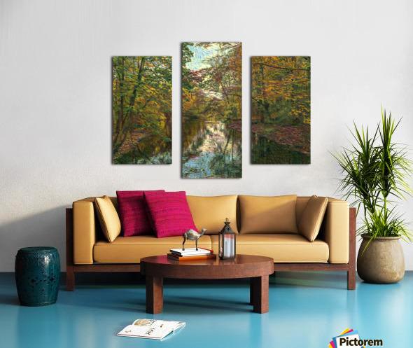 Autumn forrest Canvas print