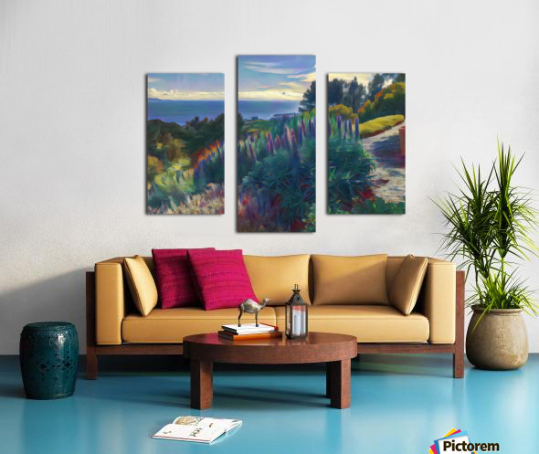 Views from the crest 2 Canvas print