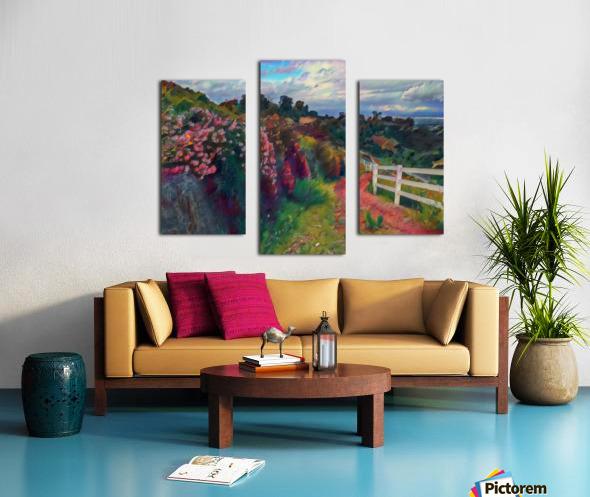 Rollings hills Canvas print