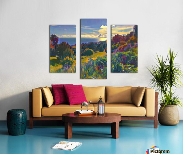 Views from the crest Canvas print