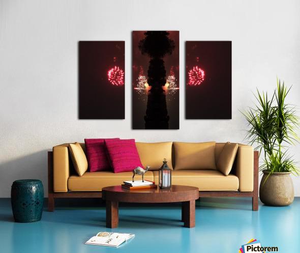 Lights54 Canvas print