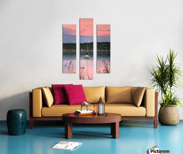 Rosy Retreat  Canvas print