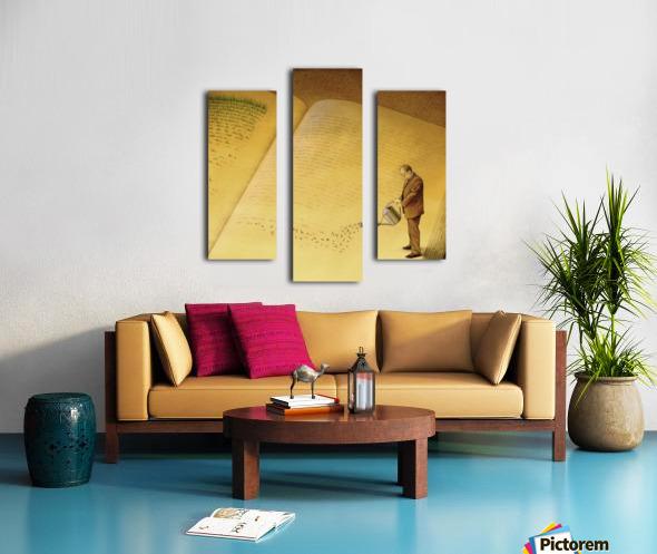 gardener Canvas print