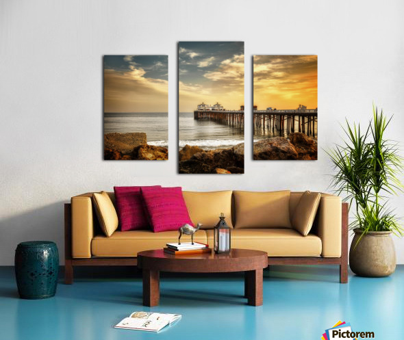 Malibu Summer  Canvas print