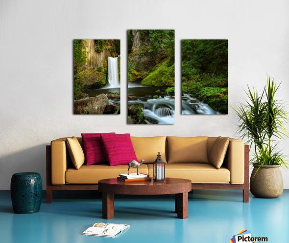 Native Flow Canvas print