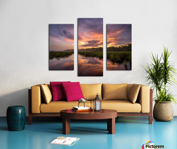 Brewing Canvas print