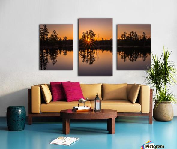 Peek Through Canvas print