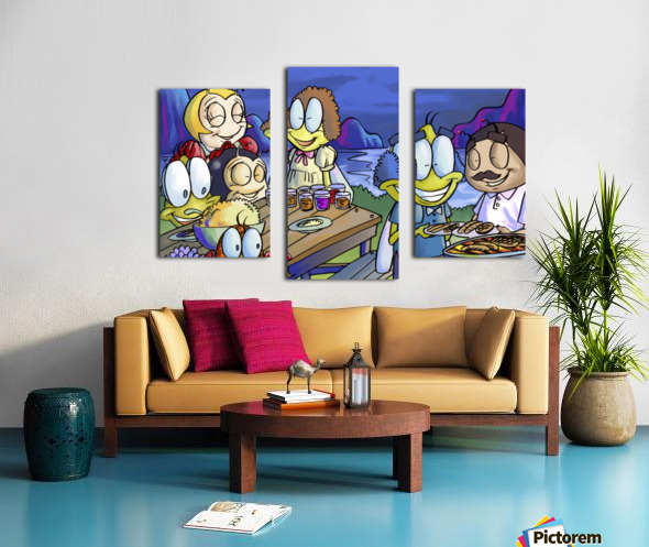 A Dream of Summer - Family Canvas print