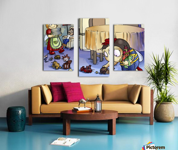 Toy Parade - Bugville Critters Canvas print