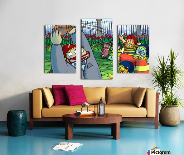 Football With Friends Canvas print