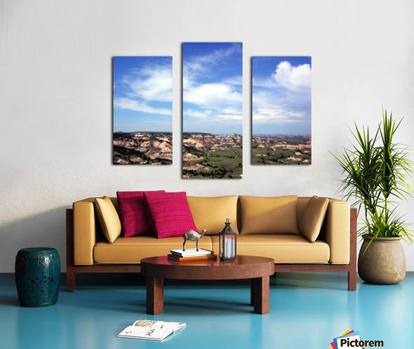 Badlands 2 Canvas print