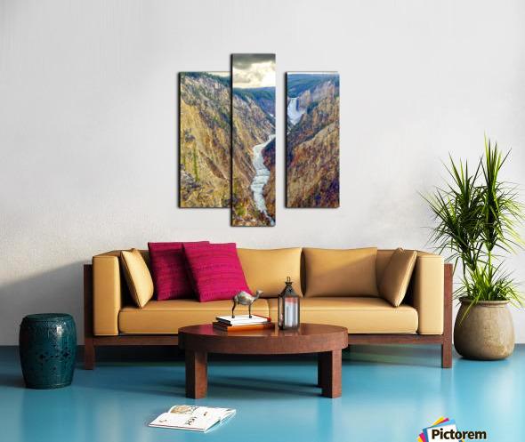 Mighty Yellowstone 5 Canvas print