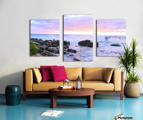 Rocky Coast Canvas print