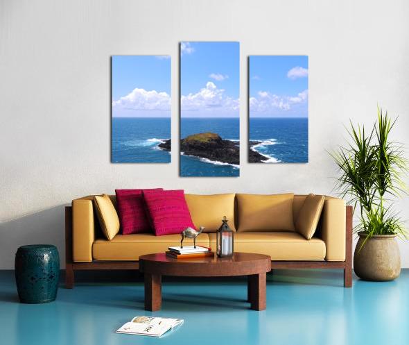 Secret Island Canvas print