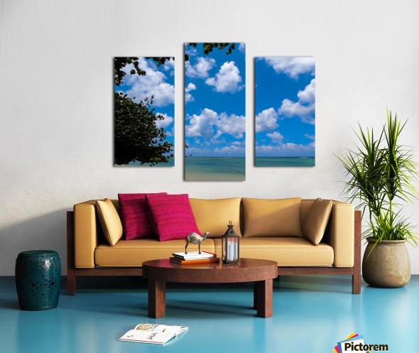 Turquoise Waters & Blue Skies Canvas print