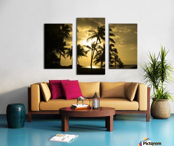 Paradise Dreams Canvas print