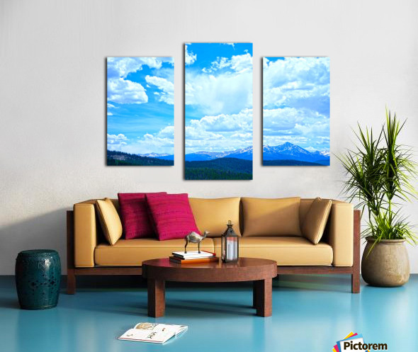 Painted Skies Over the Sawatch Canvas print