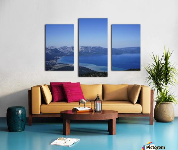 Lake Tahoe View Canvas print