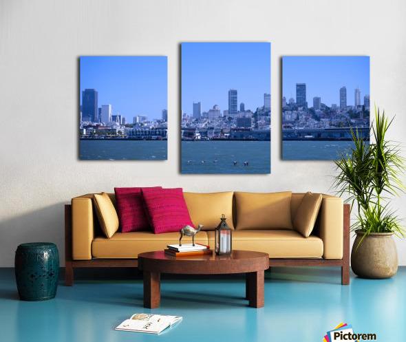 Blue Skies over San Francisco  Canvas print