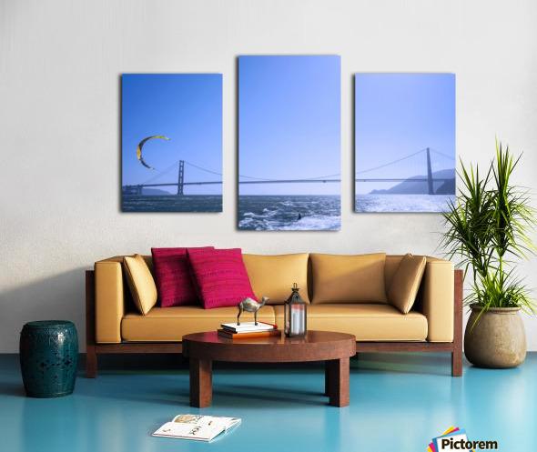 Wind Surf the Bay @ San Francisco Canvas print