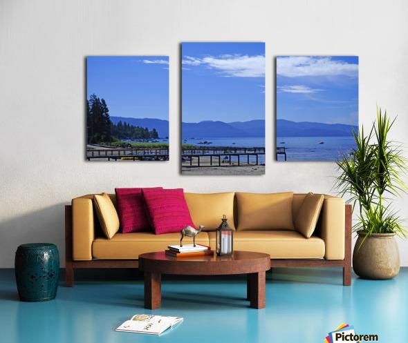 Spring at Lake Tahoe 1 of 7 Canvas print
