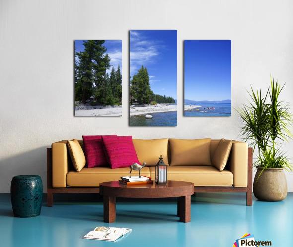 Spring at Lake Tahoe 2 of 7 Canvas print