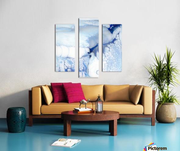 The Undoing Canvas print