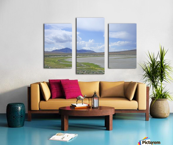 The Great Salt Lake 3 of 7 Canvas print