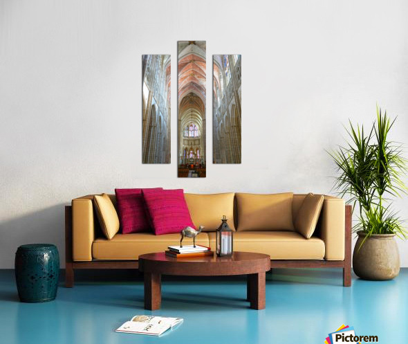 Immortal Cathedrale Saint Etienne 2 of 6 Canvas print