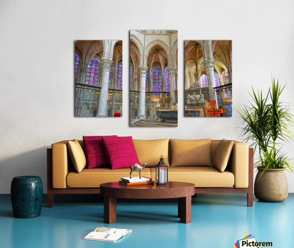 Immortal Cathedrale Saint Etienne 5 of 6 Canvas print