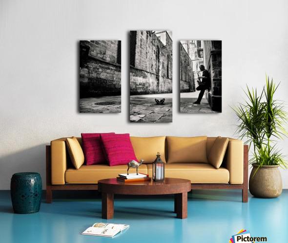 Silent Street Canvas print