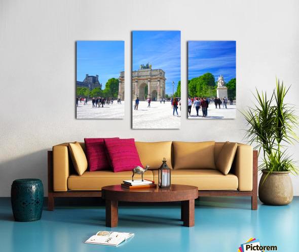 Immortal Paris 6 of 7 Canvas print