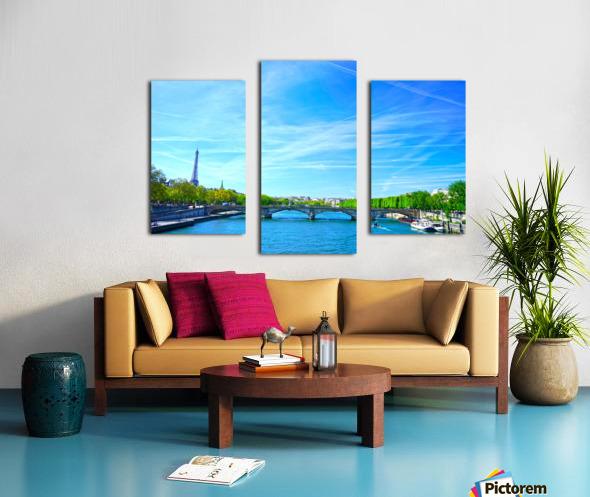 Immortal Paris 5 of 7 Canvas print